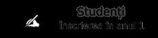Înscriere studenți